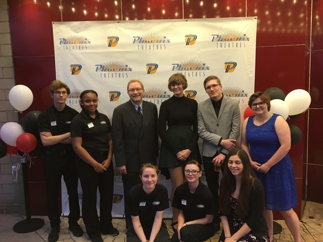 State Wayne Theatre Staff - September 2017
