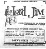 <p>LORD JIM (FEB.25,1965)</p>