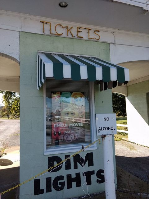 Harr's ticket booth. 2017 photo credit Susan Holly Nichols‎.