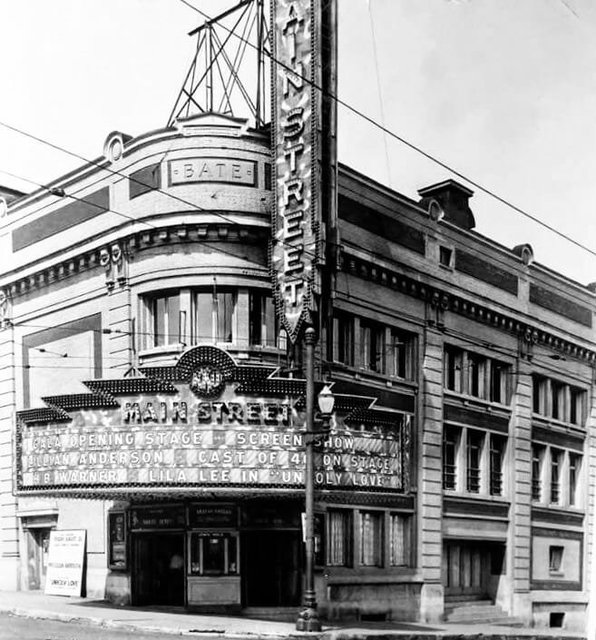 MAIN STREET (BATE, NATIONAL, ORPHEUM) Theatre; Racine, Wisconsin.