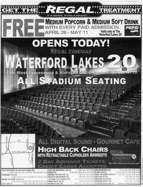 Regal Cinemas Waterford Lakes 20