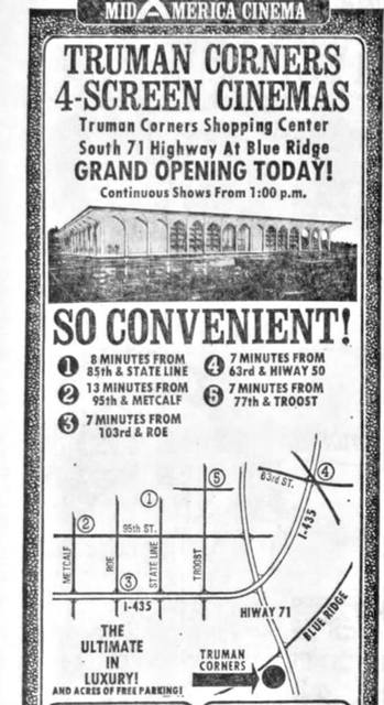 Truman Corners 4 Theatre