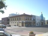 """[""""Grand Theatre, Tracy CA exterior""""]"""