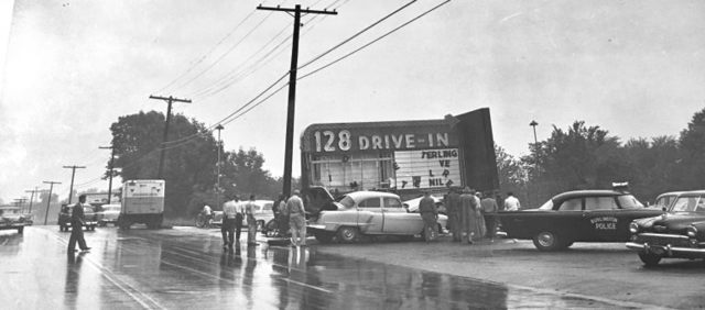 1956 photo credit Burlington Retro website.