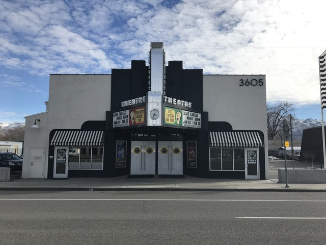 Front of theatre 2017