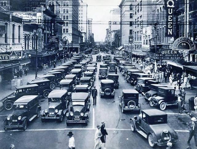1927 photo via Keith Sparks.