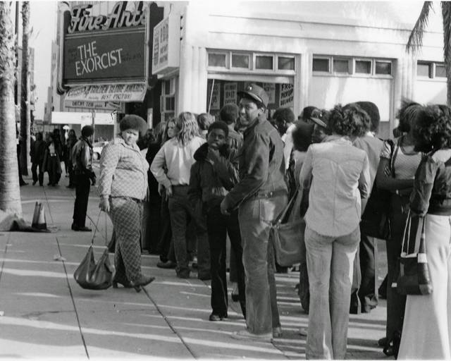 1973 photo courtesy of the Vintage Los Angeles Facebook page.