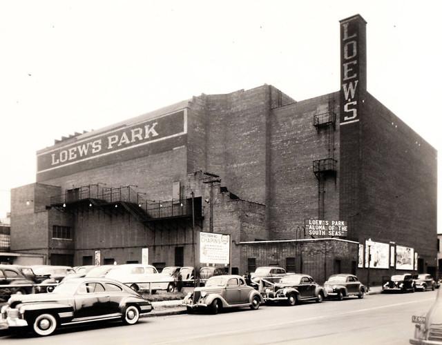 Loew's Park Theatre exterior