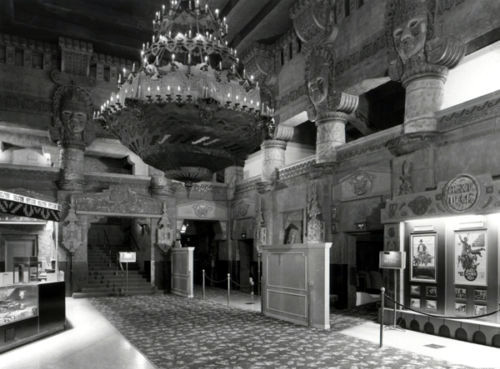 Aztec Theatre lobby