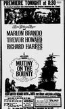 MUTINY ON THE BOUNTY- 1962