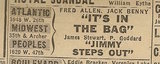 Newspaper ad from Aug. 15, 1945 Chicago Herald-American showing what was playing at the Atlantic Theatre