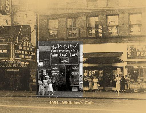 1951 photo courtesy of Ed Olis.