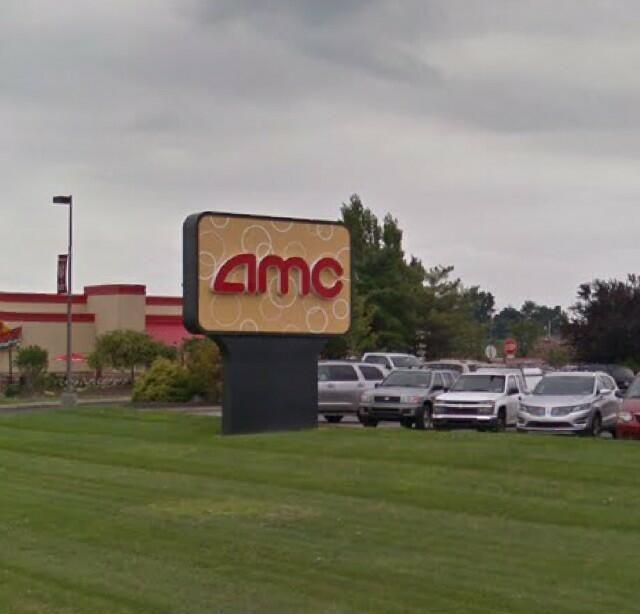 Post renovation AMC Roadside Sign
