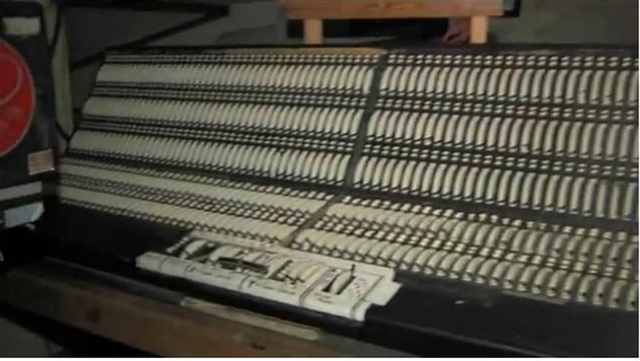The original Sound Board is still used for live shows.