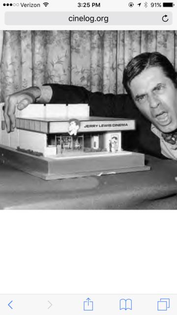 Jerry Lewis Cinemas theatre model.