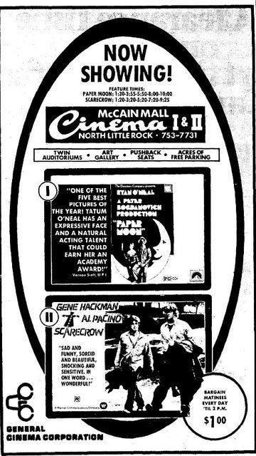 McCain Mall Cinema I & II