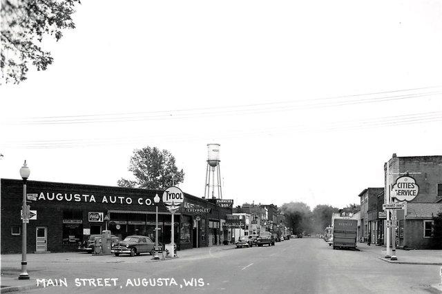 AUGUSTA Theatre; Augusta, Wisconsin.
