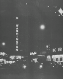 Mid `60s night photo courtesy of the 13 & Woodward Facebook page.