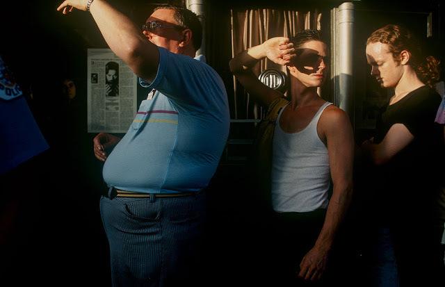 Biograph ticket booth August 1988 photo credit Jeff Wassmann.