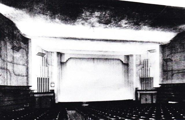 Interior on opening