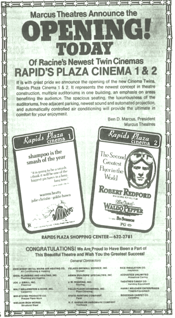 Rapids Plaza Cinema 1 & 2