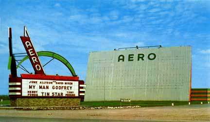 Aero Drive-In exterior