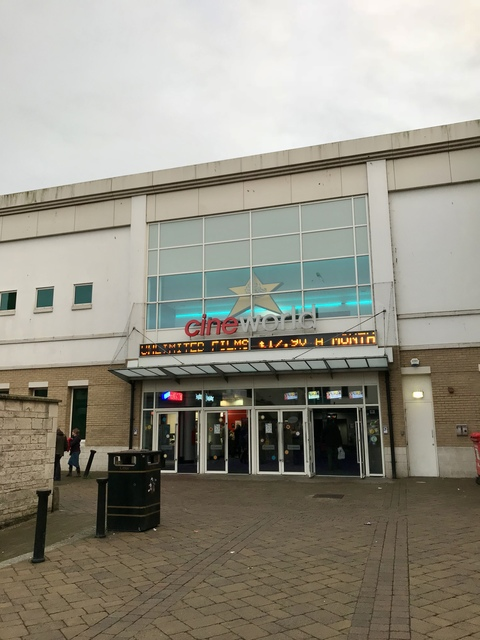 Cineworld Weymouth exterior