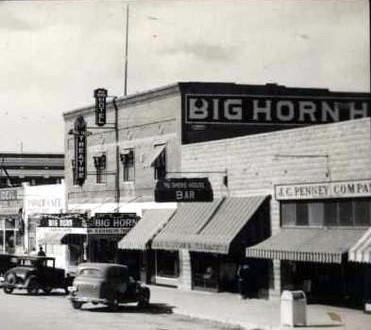 Big Horn Theatre exterior