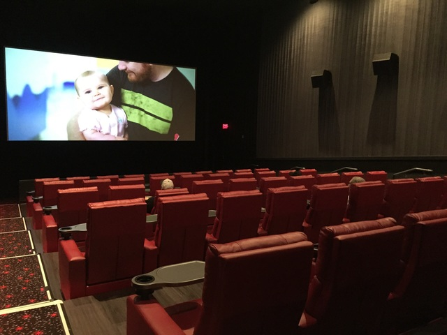 Theater 8 with recliners