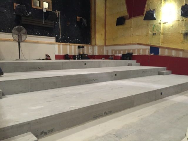 Theater 5 renovation
