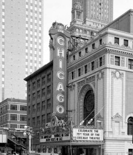 Chicago Theatre exterior