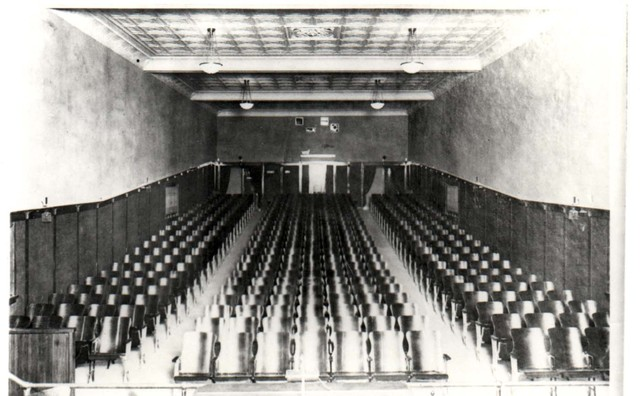 Inside the Hoerrmann Theater built in 1914
