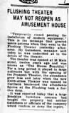 Flushing Theater 1929