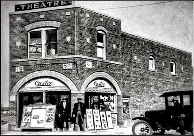 **Custer Theater 1920 (Palace) ... Slaton Texas**