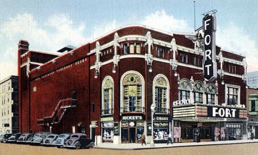 Fort Theatre exterior