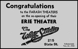 Erie Theater Schenectady N.Y.