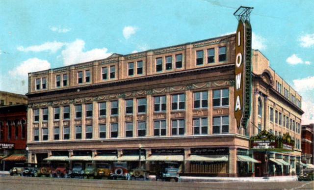 Iowa Theatre exterior