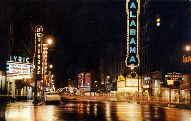 1955 photo courtesy of Kimberly Holcomb Morton.