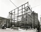 Circa 1927 construction photo courtesy of Kimberly Holcomb Morton.