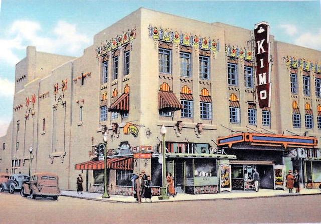 KiMo Theatre exterior