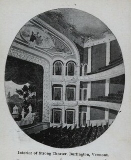 Interior of the Strong Theatre