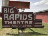 <p>In November of 2017, you could buy the top portion of the Big Rapids Theatre sign.</p>