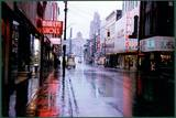 """Neon Rain""-1963 photo credit Pack Library/Special Collections."