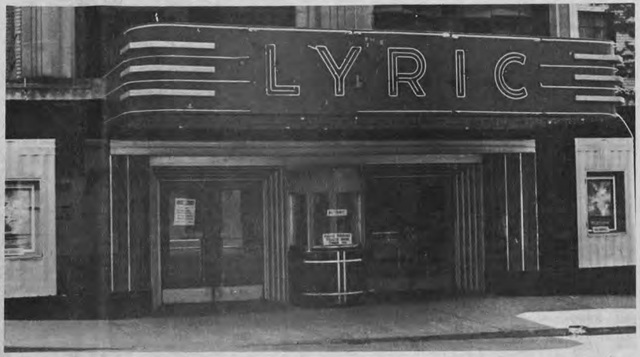 Lyric Theatre, 1979