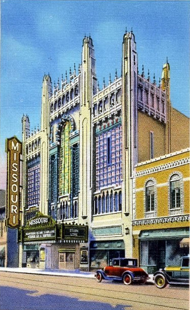 Missouri Theatre exterior
