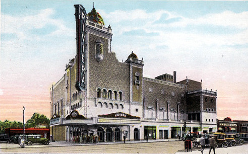 Riviera Theatre exterior