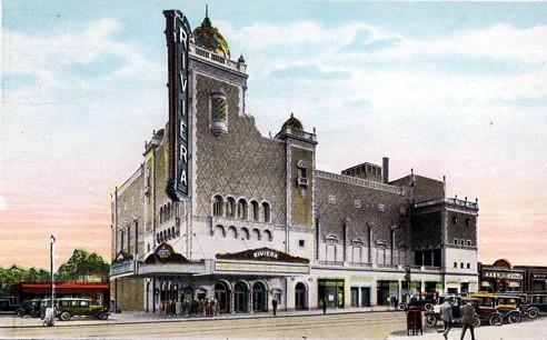 Riviera Theatre exterior