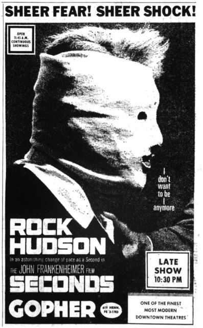SECONDS(1966)ROCK HUDSON