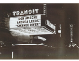 Capri Theatre when it was called the Transit