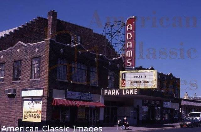 Park Lane Theater on Broad Avenue in Palisades Park